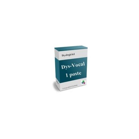 licence individuelle du logiciel Dys-Vocal