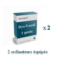 Pack 2 licences individuelles Dys-Vocal